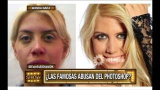 ¿Las famosas abusan del Photoshop?