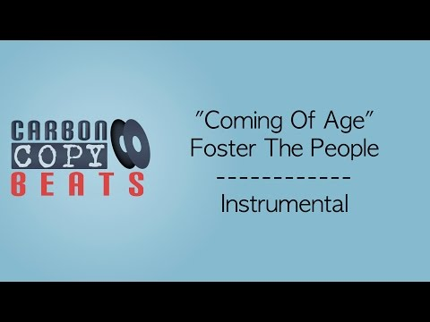 Coming of Age - Instrumental / Karaoke (In the Style of Foster The People)