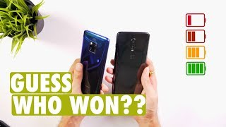 Mate 20 Pro Vs OnePlus 6T Battery Charging Test: KYA SPEED!😱