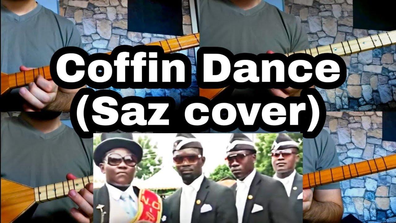 عزف اغنية رقصة التابوت على الساز و البغلمة | Coffin Dance Saz cover | بزق كردي