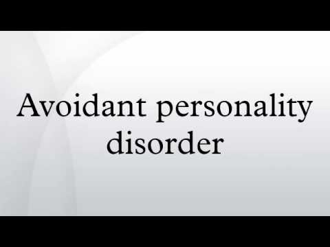 an analysis of avoidant personality disorder apd This study investigated several aspects of the validity of the diagnostic and statistical manual of mental disorders, fourth edition avoidant personality disorder (apd) construct.