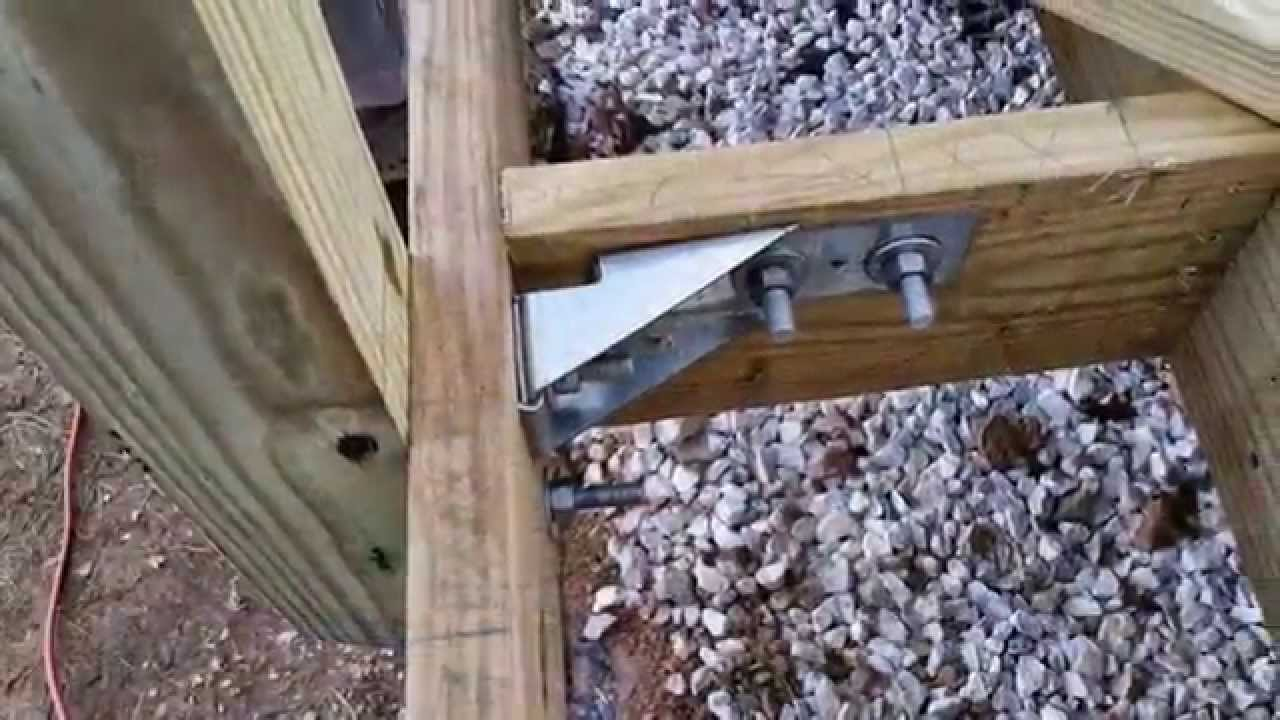 Building A Deck 16x16 How To Do It Yourself Youtube