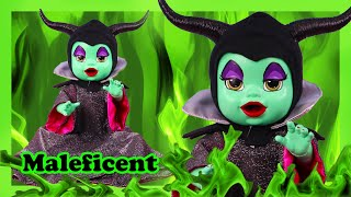 How To Make A Baby Alive Doll Look Like Maleficent From Sleeping Beauty- DIY Custom Art Doll Repaint