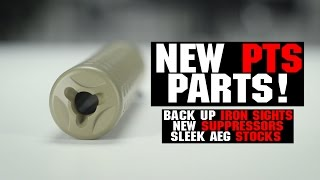 New Products w/ PTS! | Airsoft BUIS, Suppressors. Sleek AEG Stock! | AIRSOFTGI.COM