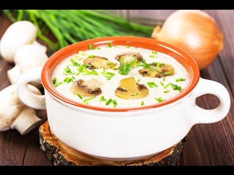 очень вкусный рецепт крем суп из шампиньонов с фото