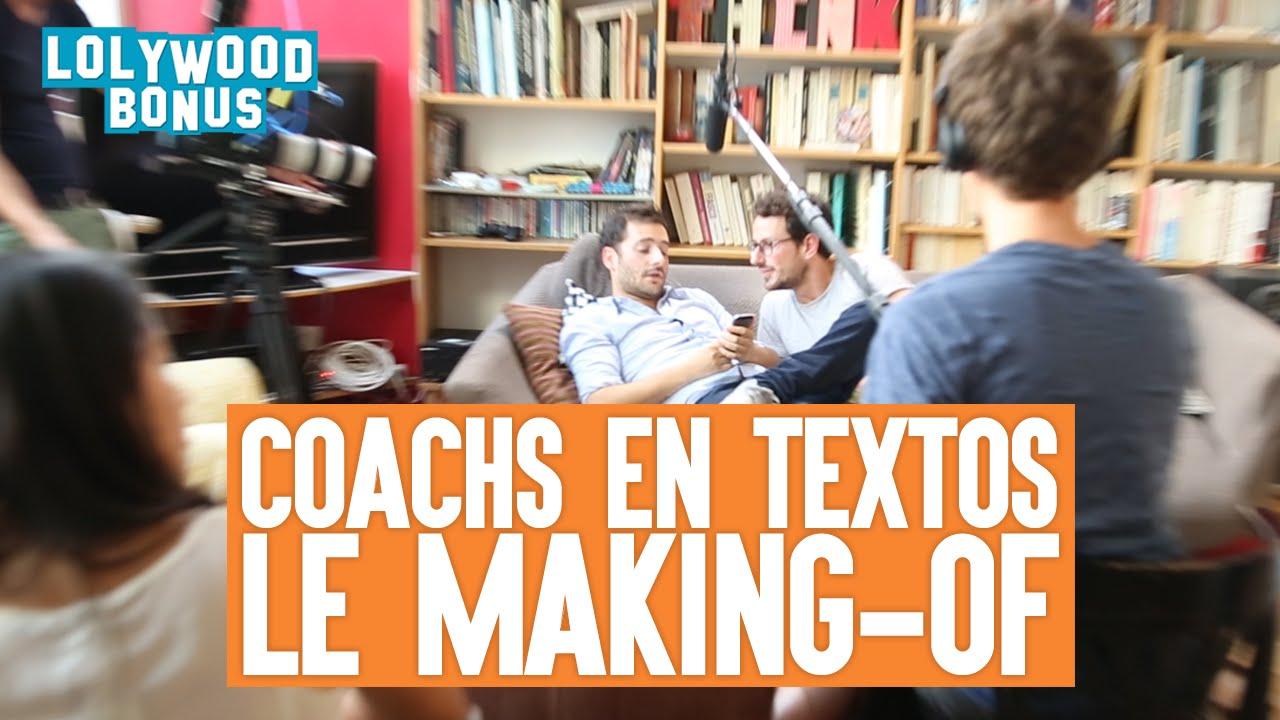 Coachs en textos – Le making of