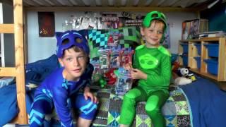 Піджей маски | творіння - іграшки полювання здивувати | супергерой мультфільми для дітей #6