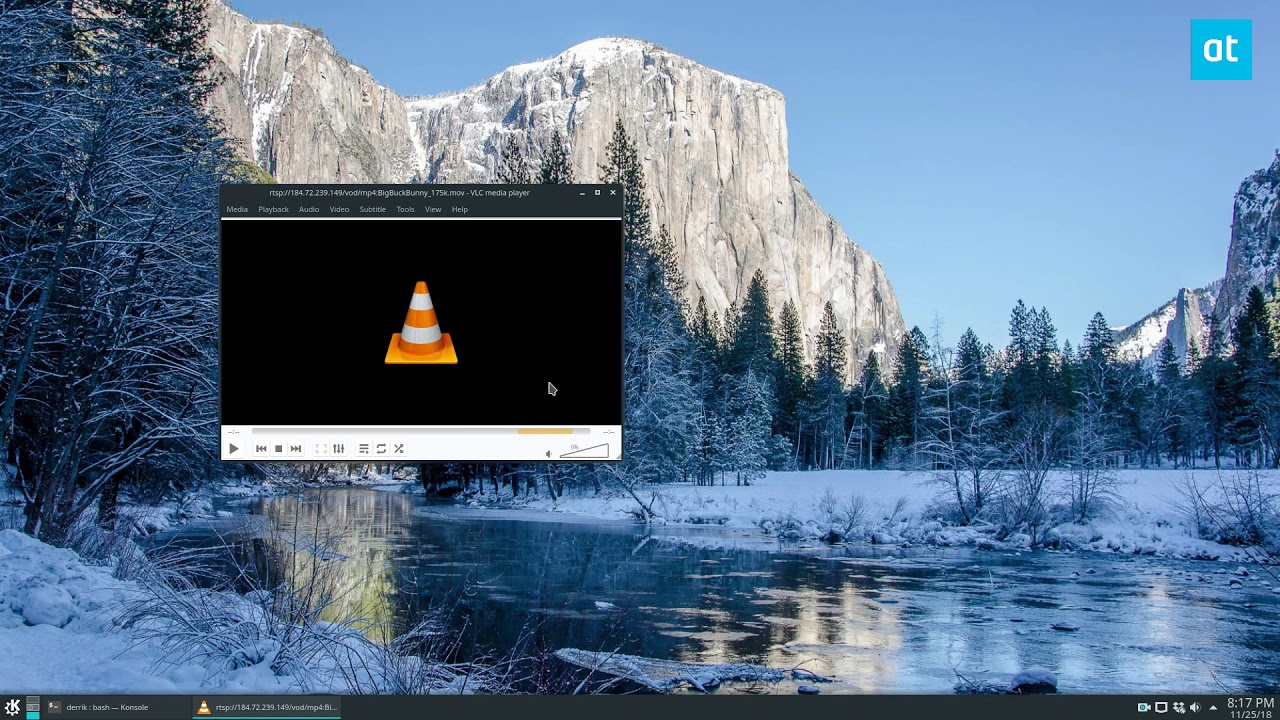 How to stream online video on Linux with VLC