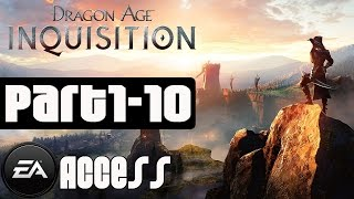 Dragon Age Inquisition Walkthrough Part 1 - 10 (3 Hours of Gameplay) No Commentary