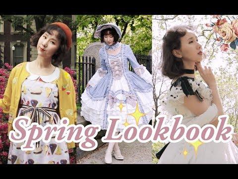 Casual→OTT, Spring/Summer LOLITA LOOKBOOK