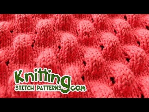 Knitting Puff Stitch Youtube