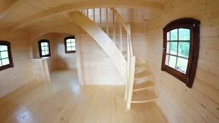 Dom drewniany letniskowy/całoroczny L24 Firma Jar-Mat