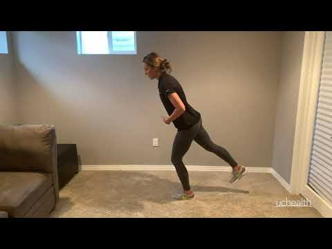 COVID-19 At-Home Exercise Videos Eight walking stretches | UCHealth