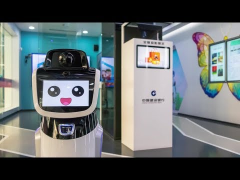 China's First Unmanned Bank Opens in Shanghai