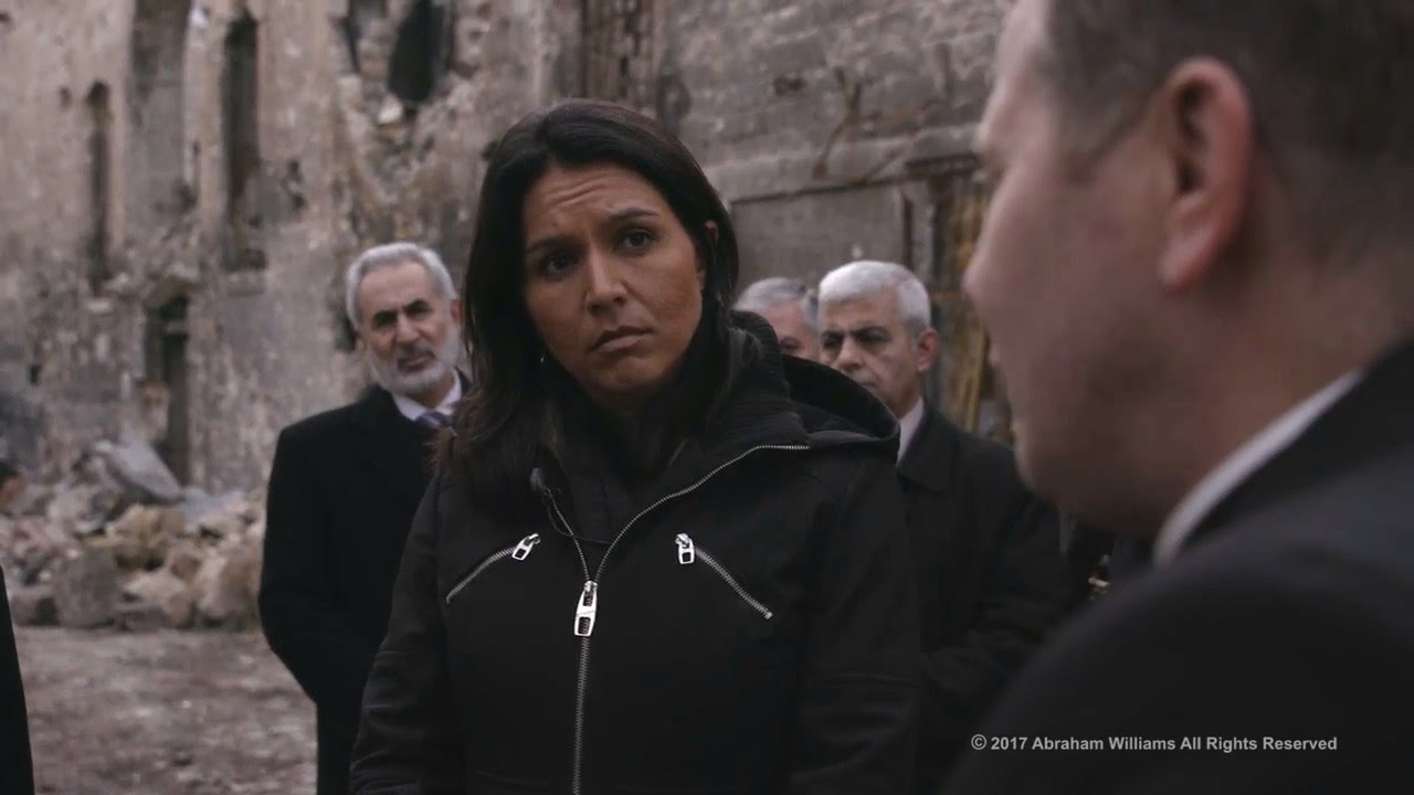 Tulsi Gabbard Visit To Syria (Jan. 25, 2017) - YouTube