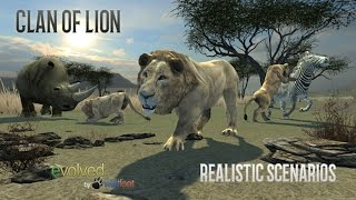 Clan of Lions By Wild Foot Games iTunes Google Play