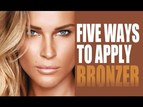 5 different ways to apply bronzer summer glow tutorial youtube 5 different ways to apply bronzer summer glow tutorial ccuart Images