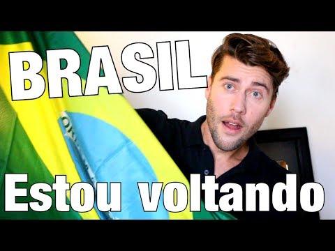 GRANDES NOVIDADES !!! VOU VOLTAR AO BRASIL !!!