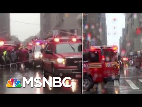 FDNY: At Least 1 Killed In Helicopter Crash On Roof Of Midtown NYC High-Rise | MSNBC