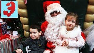 Дед Мороз и Эмилюша. Долгожданная встреча с Дедом Морозом у новогодней ёлки