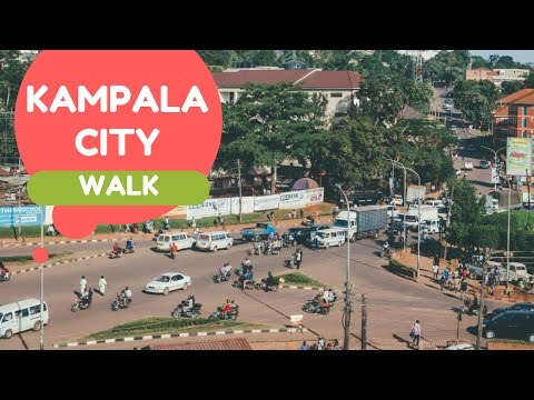 Walking Through Kampala City | Uganda Vlog