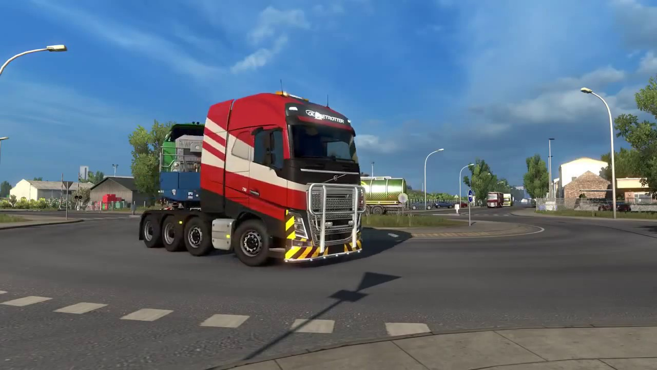 euro truck simulator 2 heavy cargo pack youtube. Black Bedroom Furniture Sets. Home Design Ideas