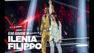 """Ilenia Filippo  """"Pezzi di vetro"""" - Blind Auditions #2 - TVOI 2019"""
