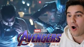 Avengers Endgame Big Game TV Spot NEW FOOTAGE Reaction Marvel Studios