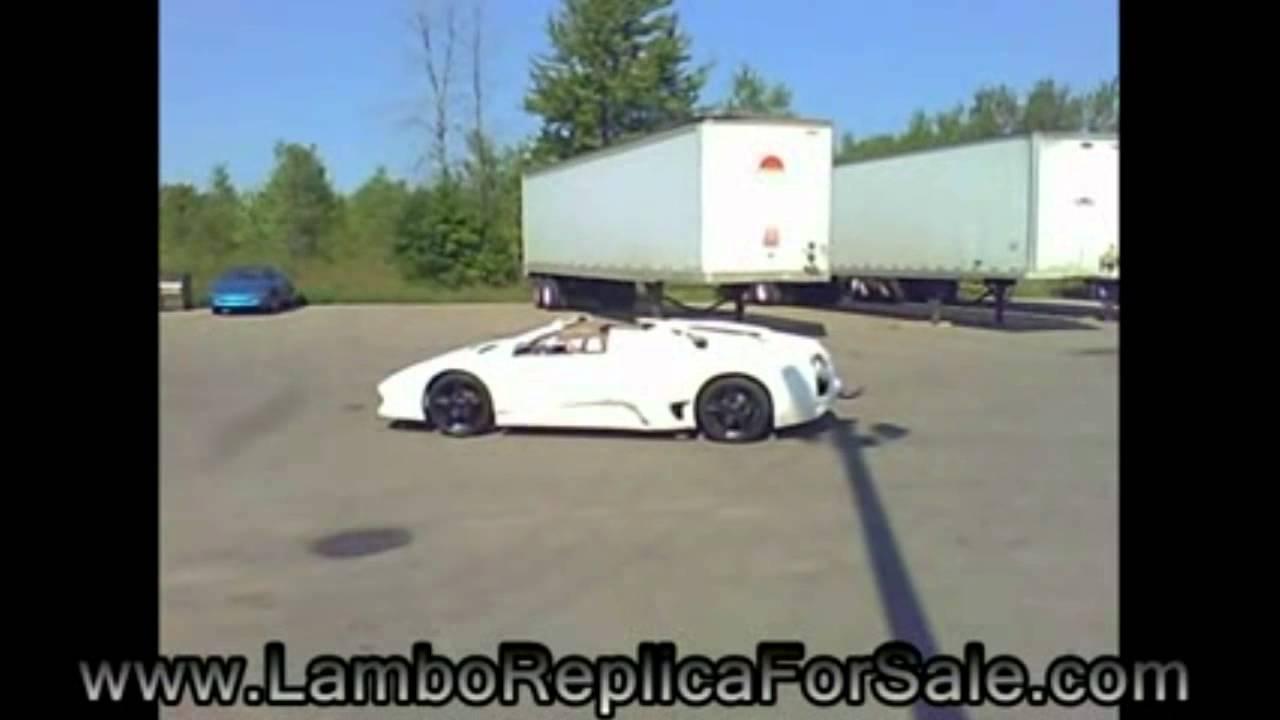 Lamborghini Murcielago Lp640 Replica Kit Car With Pontiac Fiero 28 Kes V6 And Borla Mufflers Youtube