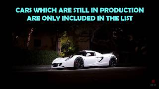 Top 10 most expensive cars in world