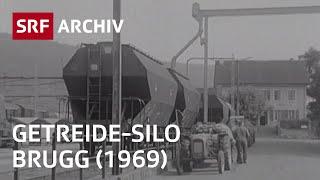 Neues Getreide-Silo Brugg - so funktioniert's (1969) | Landwirtschaft in der Schwiez | SRF Archiv