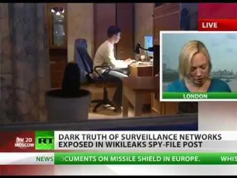 WikiLeaks Spy Files -  Secrets of Surveillance (RT)