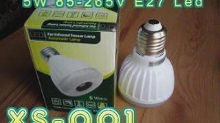 5W E27 265V лампа с ИК датчиком и фотоэлементом China led aliexpress(, 2015-02-25T18:07:51.000Z)