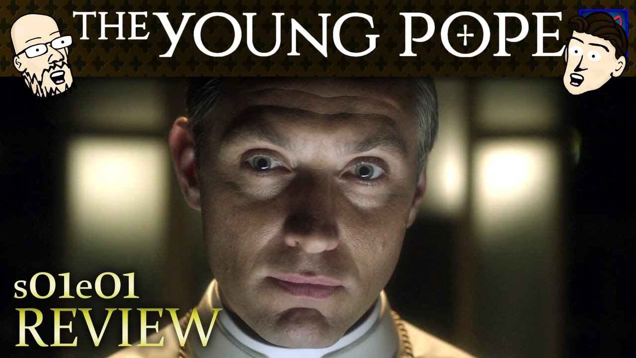 """Download The Young Pope Series Premiere s01e01 - """"First Episode"""" - Review & Discussion (Animated)"""