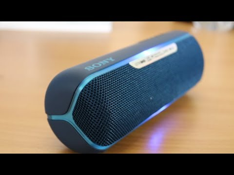 Sony Extra Bass Srs Xb22 Portable Bluetooth Speaker First Impression Youtube