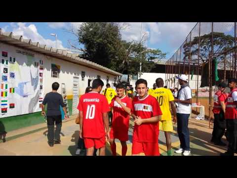 Afghanistan vs Togo football team in Brazil