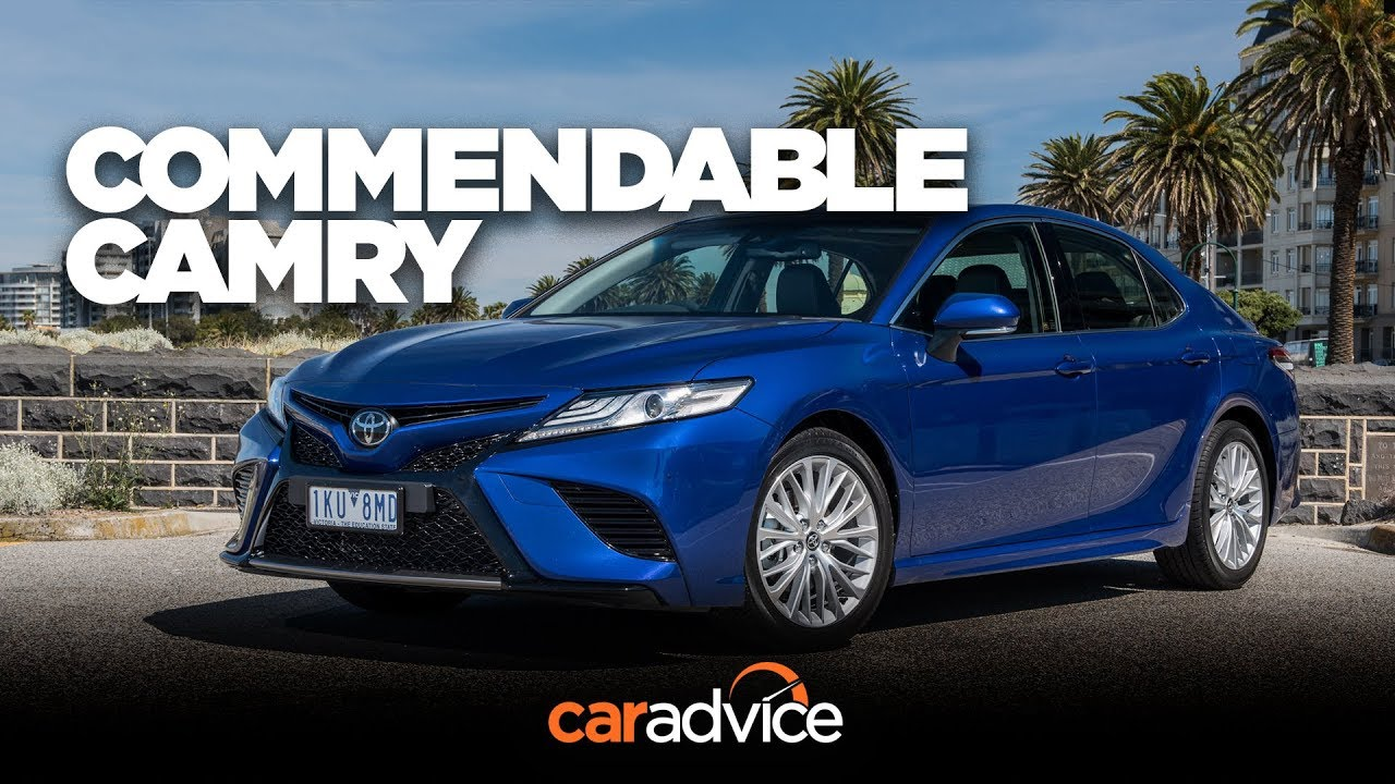 2018 Toyota Camry Sl Review A Likeable Camry