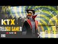 తెలుగులో PUBG Live -  KTX Telugu Gamer  ( Donate on Paytm & Google Pay )