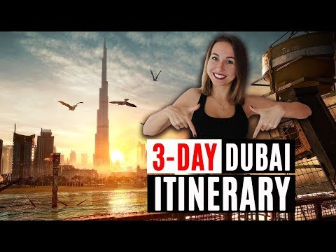 Things To Do In Dubai.  3-Day Dubai Itinerary.  UAE Travel. Desert Safari.