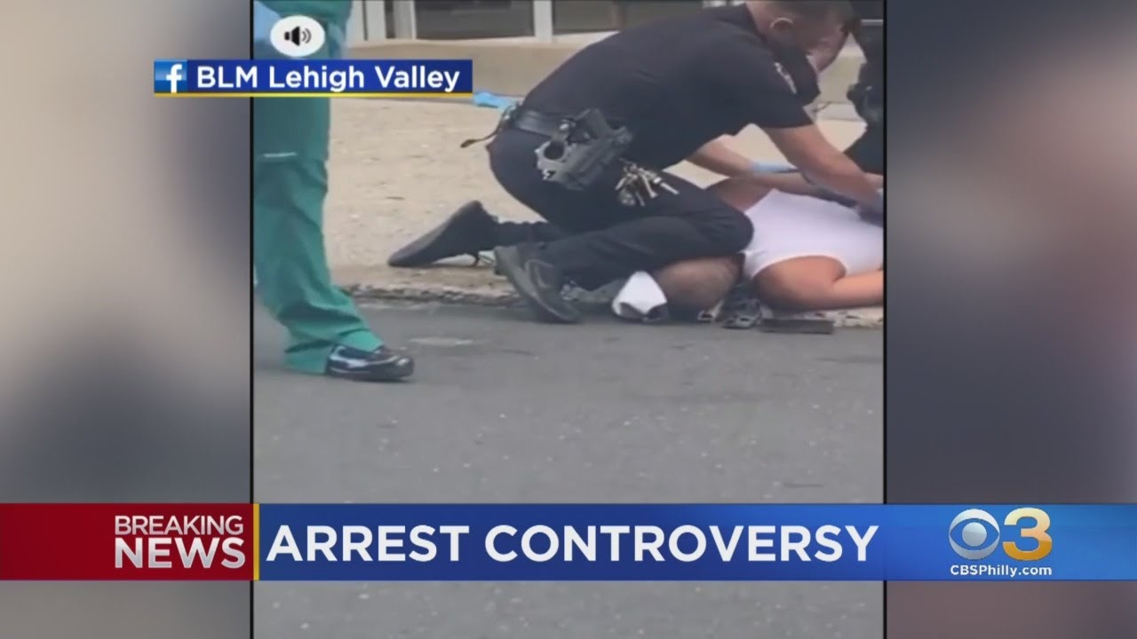 Video Surfaces Of Allentown Police Office Kneeling On Man's Neck During Arrest