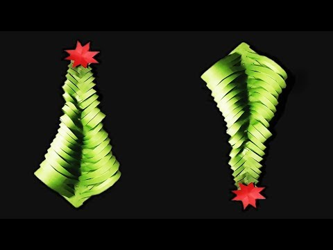 Beautiful Christmas Flower Using Colour Papers | DIY - Easy Colour Paper Crafts