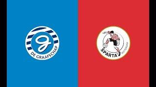 Samenvatting De Graafschap - Sparta Rotterdam