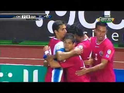 Resumen Costa Rica 7-0 Guyana Eliminatoria Brasil 2014