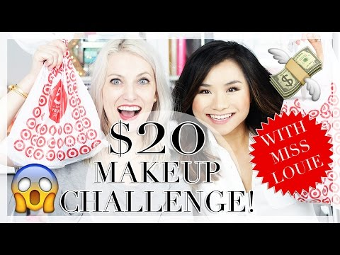 $20 Makeup Challenge with Miss Louie!