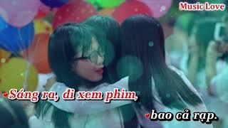 [Karaoke] Mình Cùng Nhau Đóng Băng - Thùy Chi (Beat Chuẩn)