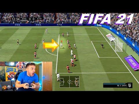 PRIMER GAMEPLAY DE FIFA 21 !!!