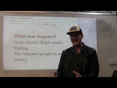 How did Napster change the music industry?