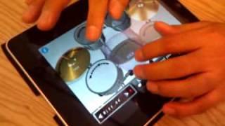 [iPad] 용중아빠님 드럼연주 모습