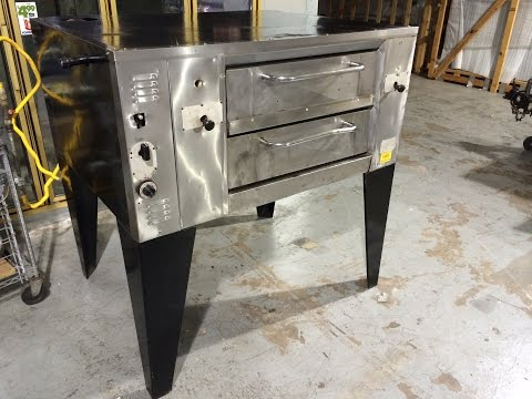 Bakers Pride Gas Single Deck Pizza Oven For Sale