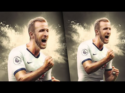 Harry Kane | Speed Art |  Football Poster Design | Photoshop Art | GD Design